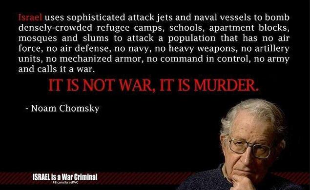 Israel-WarCrime-Chomsky