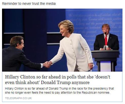 MSM-Hillary-Lie